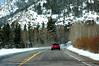 Heading toward Cameron Pass (10,276 ft).