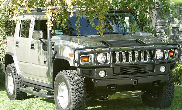 Will & Micaela's new Hummer H2