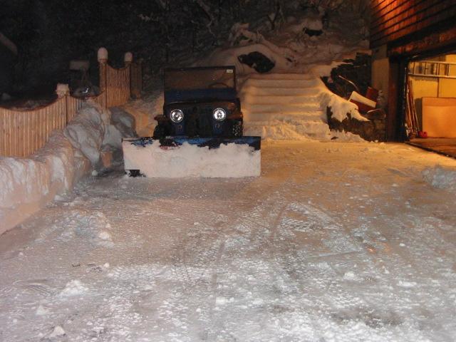 snow plow 2004