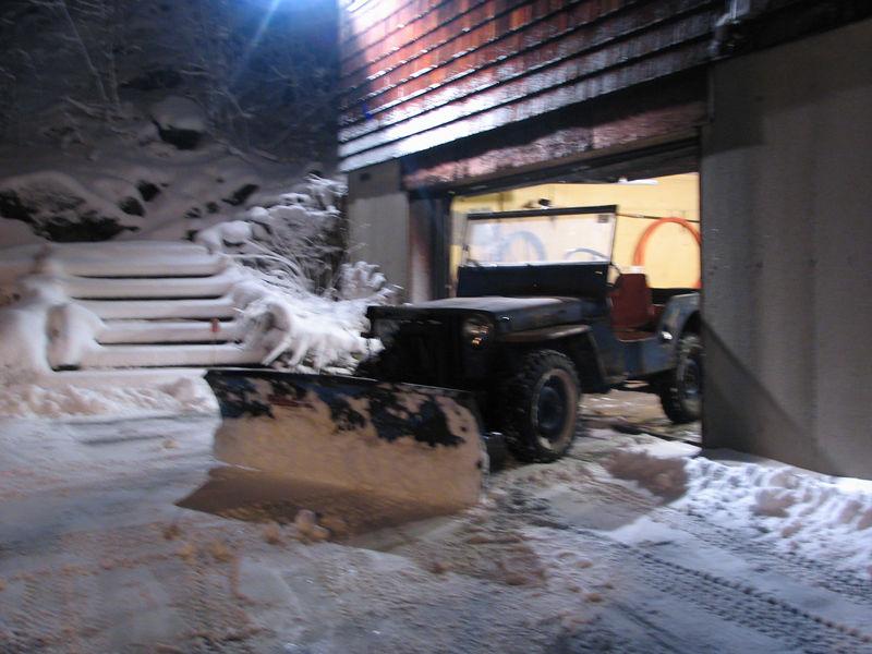 snow plow 2006