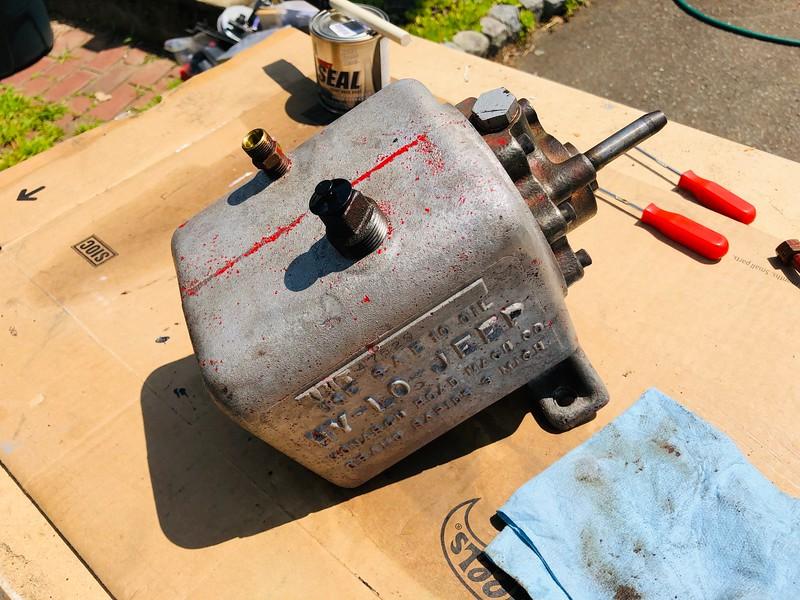 Hy-Lo Hydraulic Pump