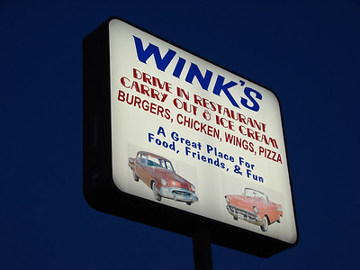 Winks Drive-In September 2007