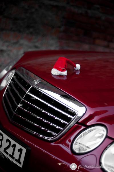 Das Auto des Weihnachtsmannes
