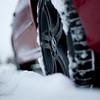 Winterreifen auf Avantgardefelgen in mattschwarz