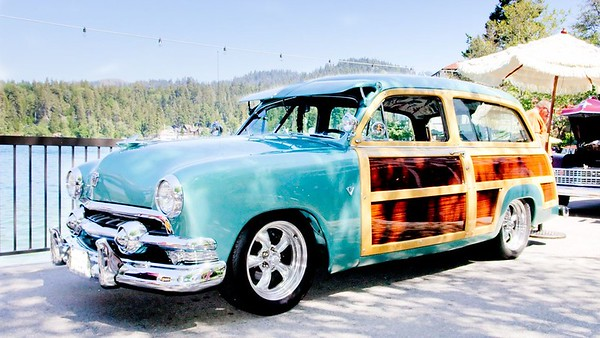 woodies at lake arrowhead 06/05/10