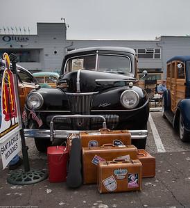 Woodie Club Event at Santa Cruz Wharf
