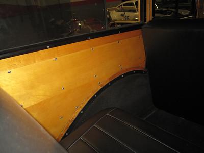 Interior side panel