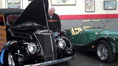 1937 Ford Woody Wagon. Engine running video. 2013-11-30