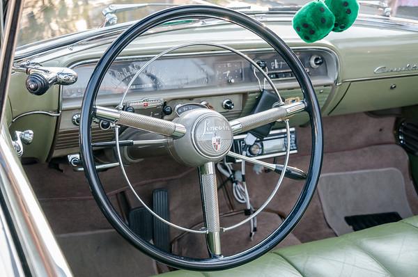 1950 Lincoln Cosmopolitan Interior