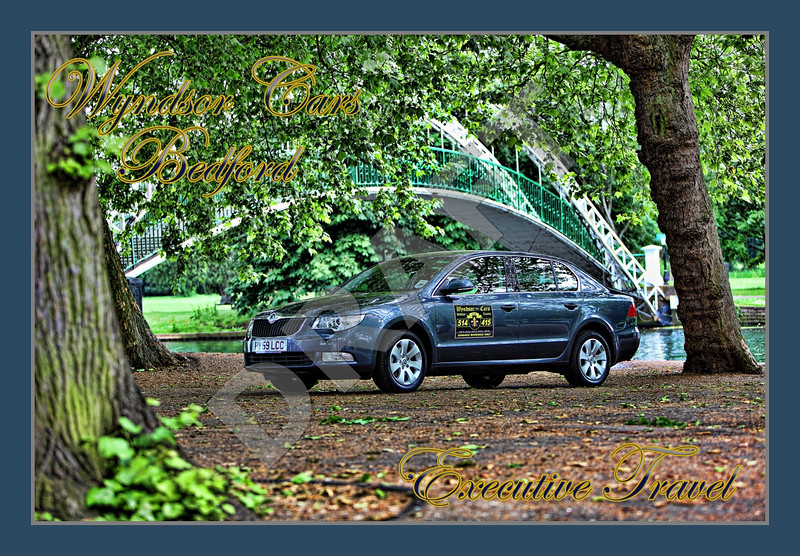 This image has been finished with an added border and text. Various items such as lamp posts and life rings have been removed to give a less cluttered image of the vehicle in a natural frame that is very clearly Bedford.