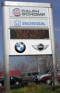 The 2nd Annual MINI5280.org Yalla Yalla was Nov. 14, 2004. Yalla Yalla is supposedly Balinese for wandering about. This scavenger hunt began at the Ralph Schomp MINI dealership at noon.