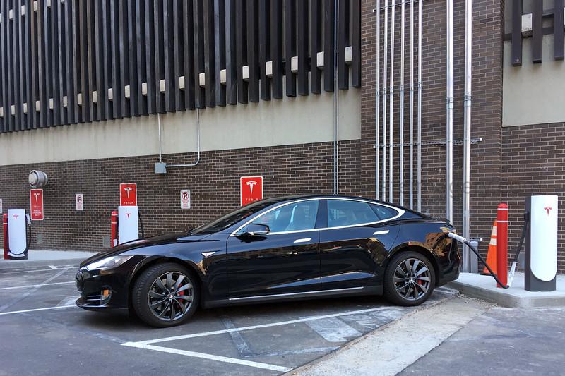 Tesla Parking Only