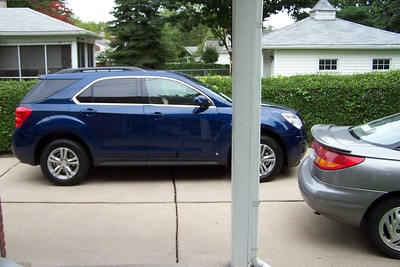 Chevy Equinox and Scott's Saturn