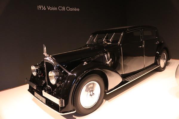 1936 Voisin C28 Clairière
