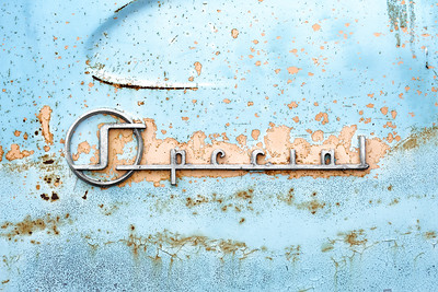 50s Buick Special nameplate