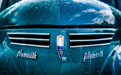 Plymouth in the Rain