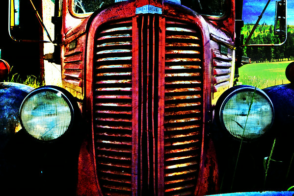 Rusty Old Dodge