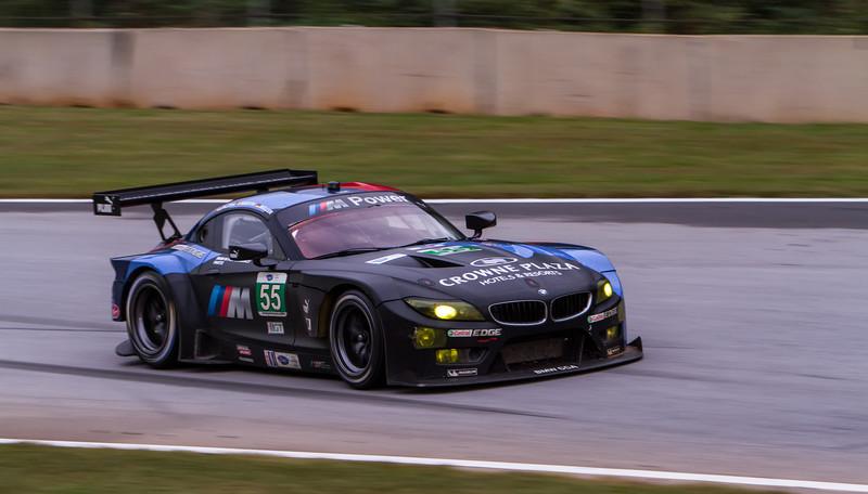 BMW racing at the last ALMS petite lemans in Atlanta 2013
