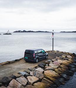Ford Transit ocean ride