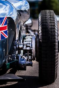 Napier Railton, rear suspension