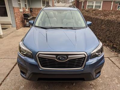2020 Subaru Forester - leased late November 2019.