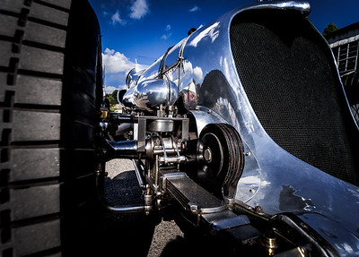 Napier Railton Front Suspension