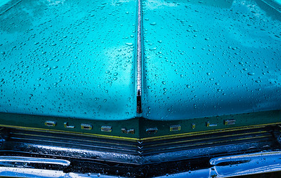 Oldsmobile in the Rain