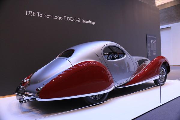 1938 Talbot-Lago T-150C-SS Teardrop