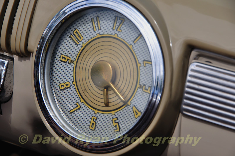 Dash Clock, 1950 Ford Woody Station Wagon