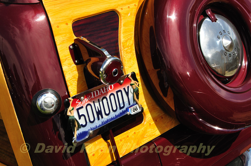 """1950 Ford """"Woody"""" Station Wagon"""