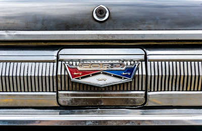 1960 Ford Falcon trunk lid emblem
