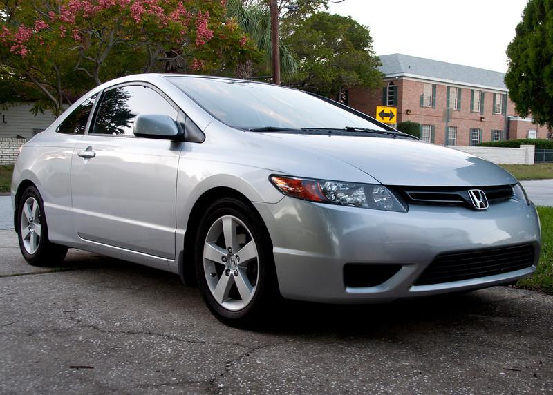 Silver Civic 2
