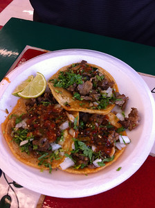 These were some damn fine tacos.