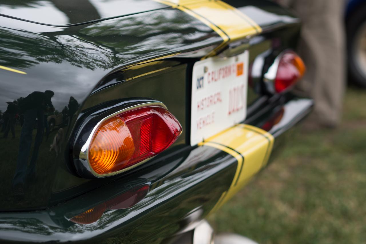 Jay Leno's 1966 Lotus Elan, 26R replica.