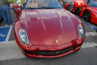"""This is the Ferrari with the """"sail panels."""" This car has a nice retro classy sports car look to it."""