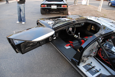 Ford GT. check out the battery in the bottom right.  I like how the door is shaped.