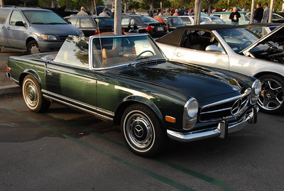 A 280 SL.  This was my favorite Mercedes for many, many years.