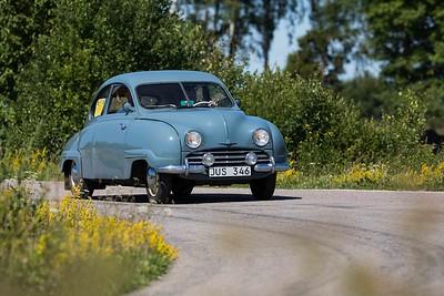 Saab 92, årsmodell 1954. Ålleberg,