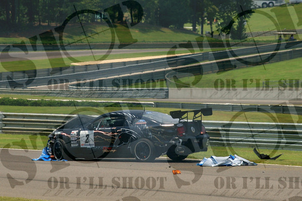 Thats gotta hurt......Driver was ok!