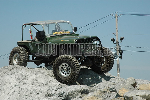 """Rock Crawling Demonstration"" @ All Ford Nationals - June 7, 2008 - Nikon D70 - Mark Teicher"