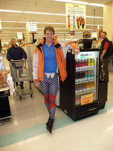 Price check - lycra clown on aisle six.