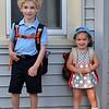 First day of kindergarten! (9/3/2015)
