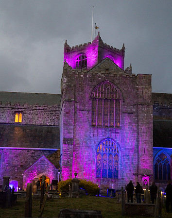 Cartmel Priory Son et Lumiere