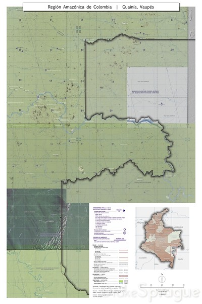 Colombia_Map_Vaupes_300k