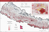 "Map | ""Nepal General Reference & Logistical Planning Map, 2015"" by Drake Sprague"