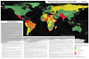 "Map | ""World Risk of Kidnap for Ransom and Extortion (KRE), 2014"" by Drake Sprague"
