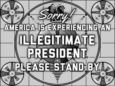 Illegitimate President