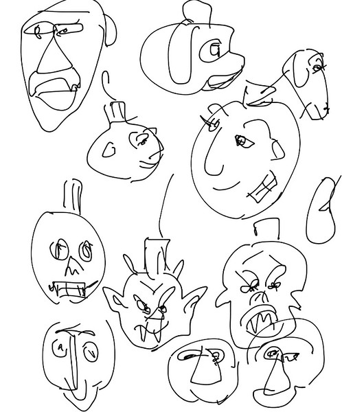 Ornament monsters
