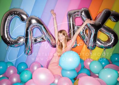 Carys' Balloon Bat Mitzvah