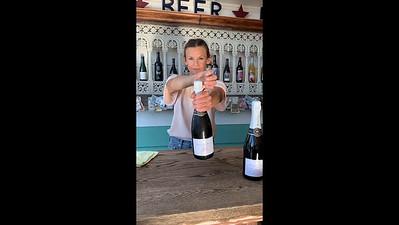 20200827 Opening champagne - full length